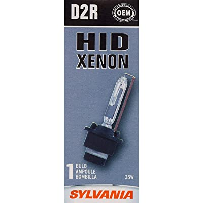 SYLVANIA - D2R Basic HID (High Intensity Discharge) Headlight Bulb - High Performance Bright, White, and Durable Lamp (Contains 1 Bulb): Home Improvement