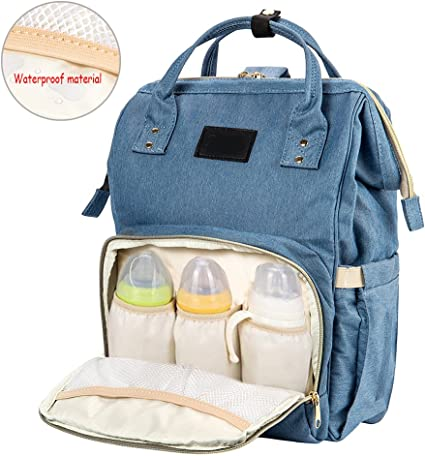 Multi-Function Baby Infant Diaper Nappy Changing Bag Mummy Backpack Rucksack
