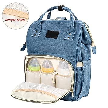 Original Wickeltasche Babytasche Wickelrucksack Windel Rucksack Pflegetasche
