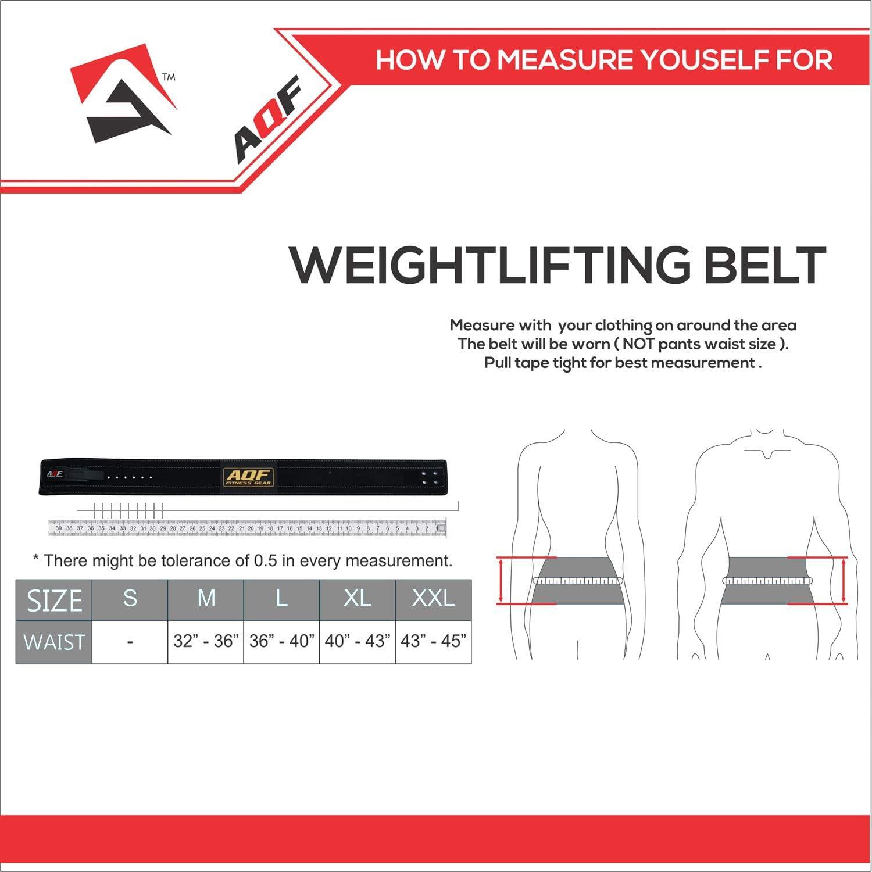 AQF Cinturon Lumbar Gimnasio para Levantamiento De Cinturon Gym Hebilla de Palanca Pesas De Cuero Acolchado De 4 Pulgadas para Musculaci/ón De F/ísico