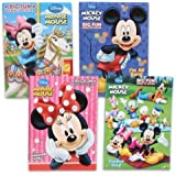 Amazon.com: Mickey Mouse Coloring Book Set (4 Books, Assorted Titles ...