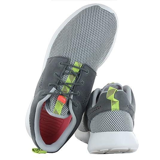 plzvi Nike Roshe Run Grey Charcoal Mens Trainers Size 10.5 UK: Amazon.co