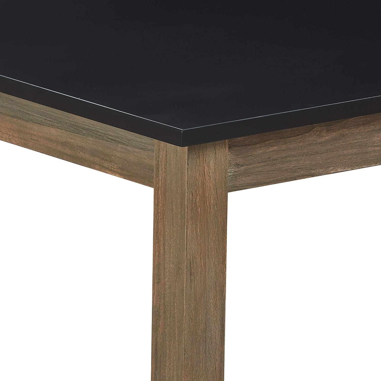 Finch Elmhurst Dining Table Black Grey Tables