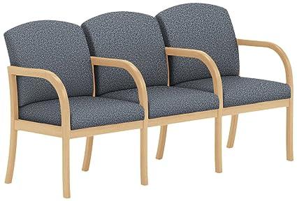 Amazon.com: Lesro Weston W3303G5NVTEDE 3 Seats Sofa with ...