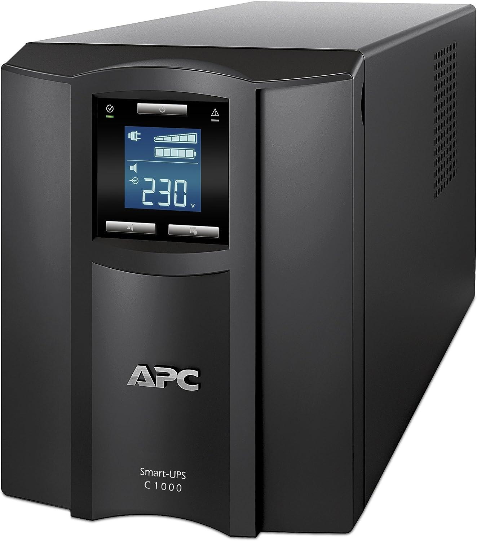 APC SMT1000I Smart-UPS 1000VA LCD 230V 8 Outlet Uninterruptible Power Supply