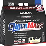 ALLMAX QUICKMASS LOADED, Rapid Mass Gain Catalyst Powder, Zero Trans Fat, Vanilla Flavor, Dietary Supplement, 12 Pound