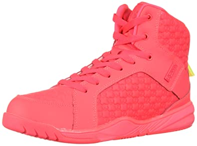 5d1bfa8e6fd99 Zumba Women's Street Boss Fashion Dance Shoe with High Impact Support,  Basic Pink, 5