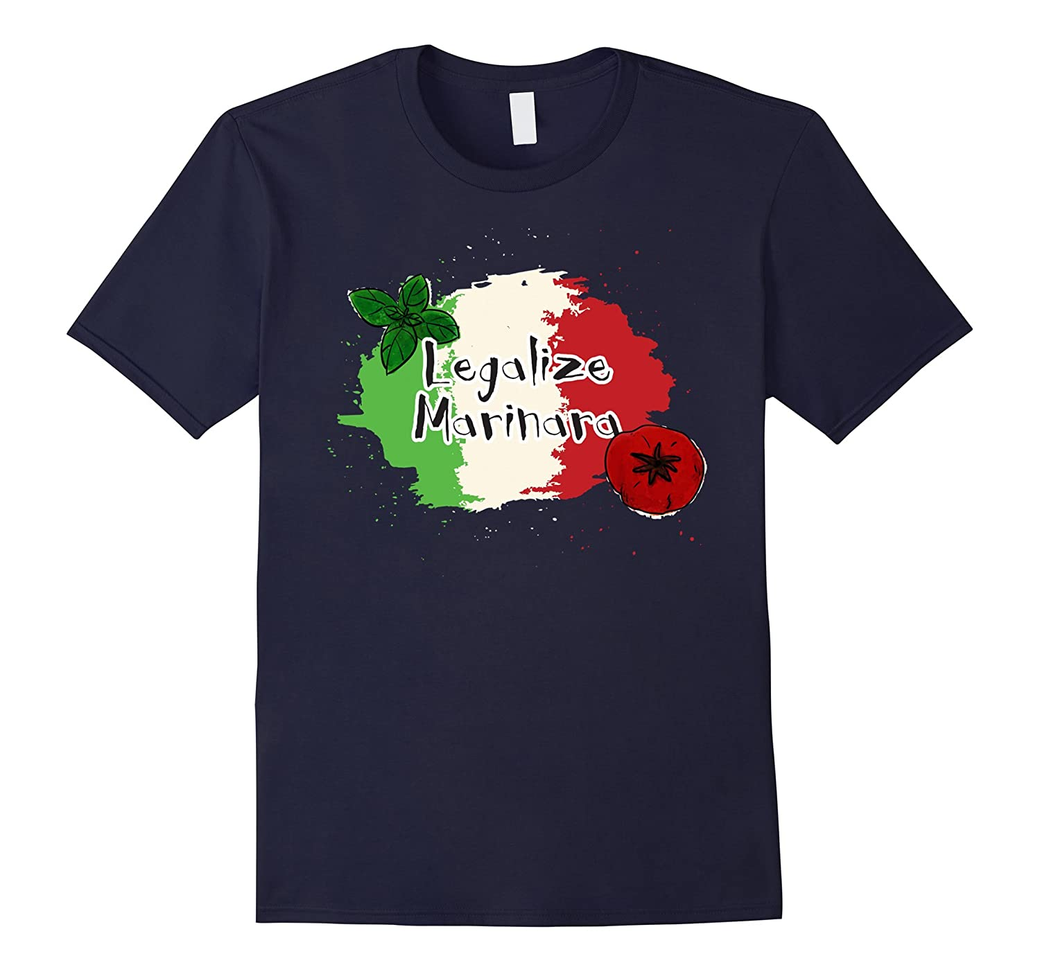 Legalize Marinara T-Shirt For Italophiles-BN
