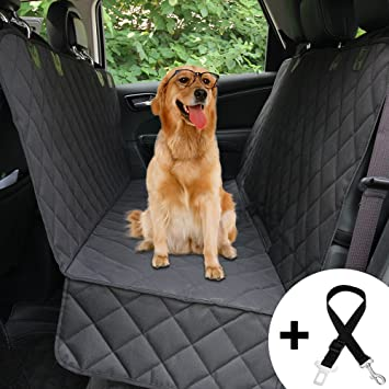 Honest Dog Car Seat Cover With Side Flap Pet Backseat For Cars Trucks