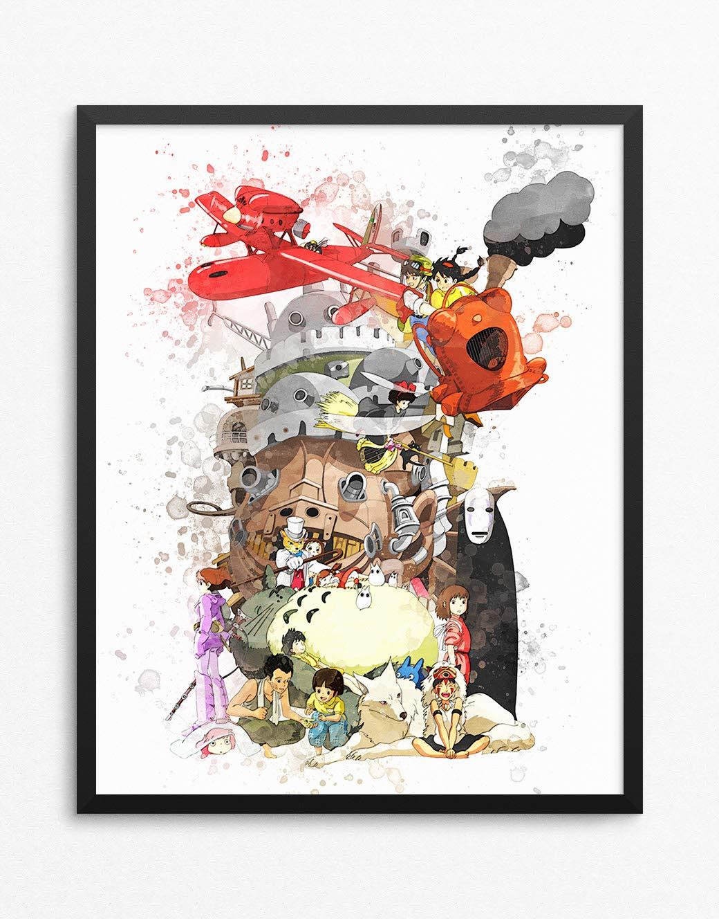 Amazon.com  Studio Ghibli Print df9f75a730