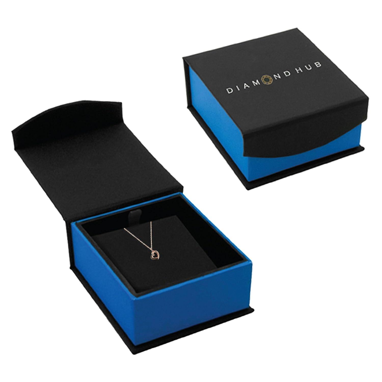 Amazon.com: De la Mujer Corazón Acento De Diamantes 10 K oro ...