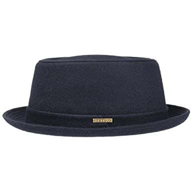 Stetson Wool Pork Pie Hat Felt  Amazon.co.uk  Clothing 19bf5a5572e