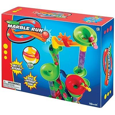 Toysmith 80-Piece Marble Run: Toys & Games