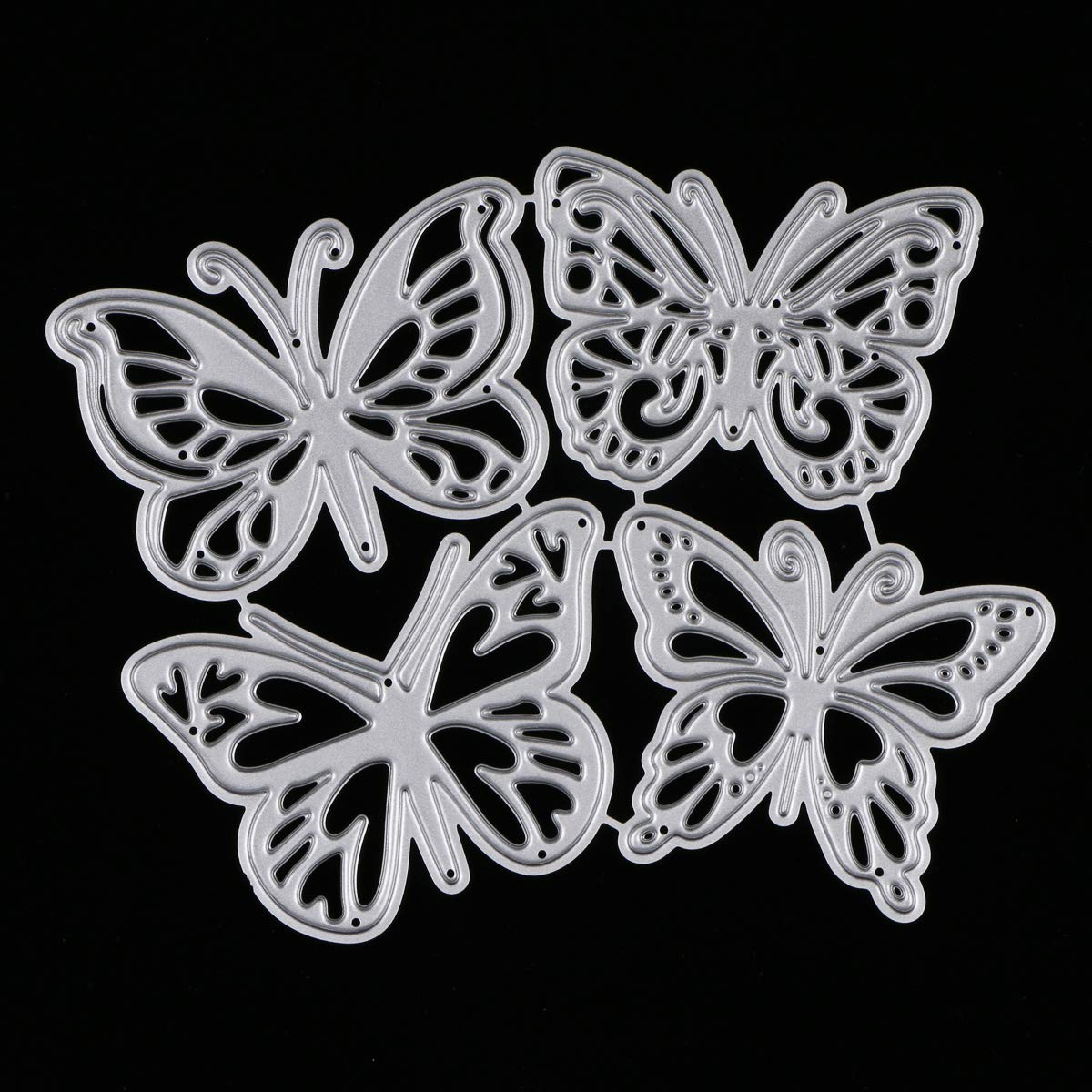 Flydragon Metal Cutting Dies Stencils MikiMiqi Criss-Cross Metal Flydragon Embossing Scrapbooking Dies Cuts Handmade Stencils Template Embossing for Card Scrapbooking Craft Paper Decor