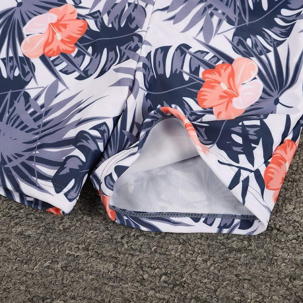 Shiningbaby Passende Familie Bikini Set Bademode Mama Tochter 2pcs Kleidung Set Papa Sohn Shorts Beachwear