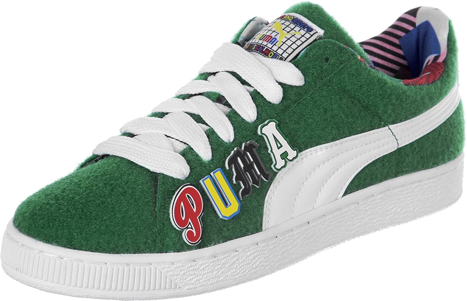 Puma Basket X Dee & Ricky CR Messieurs Vert Limited Edition Chaussures Homme Sneaker Baskets