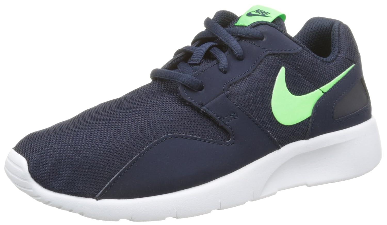 Nike Kaishi (GS) Zapatillas de Running, Niños 39 EU|Negro / Verde / Blanco (Obsidian / Voltage Green-white)