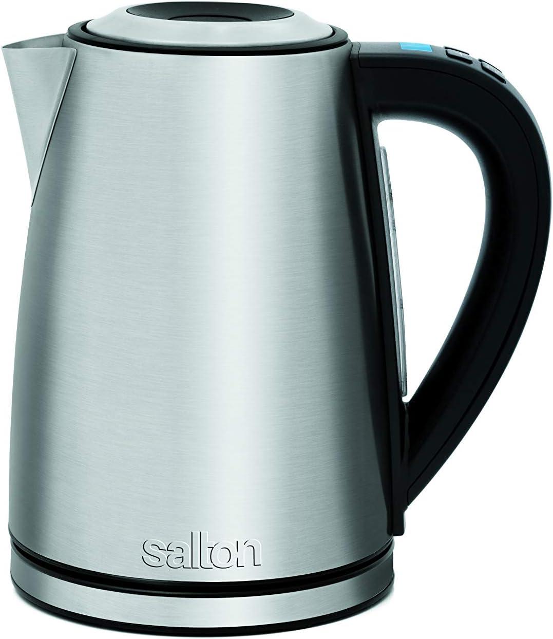 Salton JK1657 Bouilloire en acier inoxydable à température