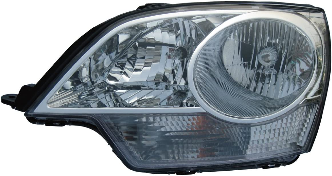 Partslink GM2502306 OE Replacement Headlight Assembly CHEVROLET CAPTIVA 2008-2009