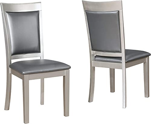 Roundhill Furniture Avignor Contemporary Simplicity Dining Chair
