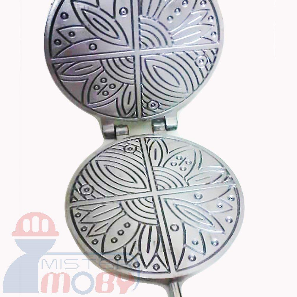 Mistermoby Traditional Italian Cookies Maker Machine Pizzelle Waffle Wafer Krumkake Model 8