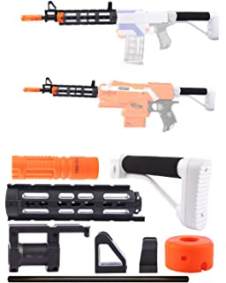 Worker Mod Modification Shoulder Stock Kits With Adapter Model A  Retractable Accessory For Nerf Elite STRYFE