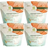 Grab Green Naturally-Derived Cookware and Bakeware Cleaner Pods, 4 Count