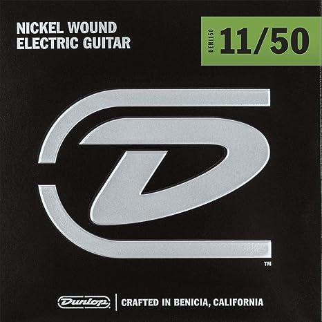 Dunlop Medium den1150 Heavy, cuerdas para guitarra eléctrica de ...