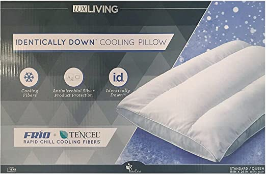 Amazon Com Lux Living Identically Down Cooling Pillow Home Kitchen