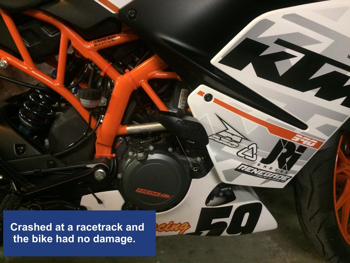 T-Rex Racing 2015-2019 Duke 390 No Cut Frame Sliders