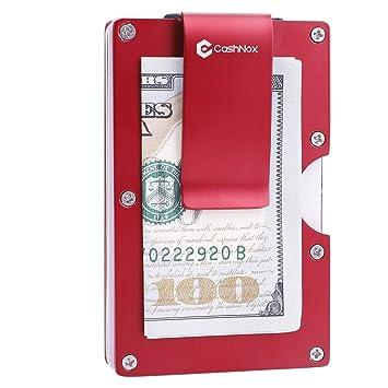Metal Billetera Titular de Tarjeta de crédito con Bloqueo de ...