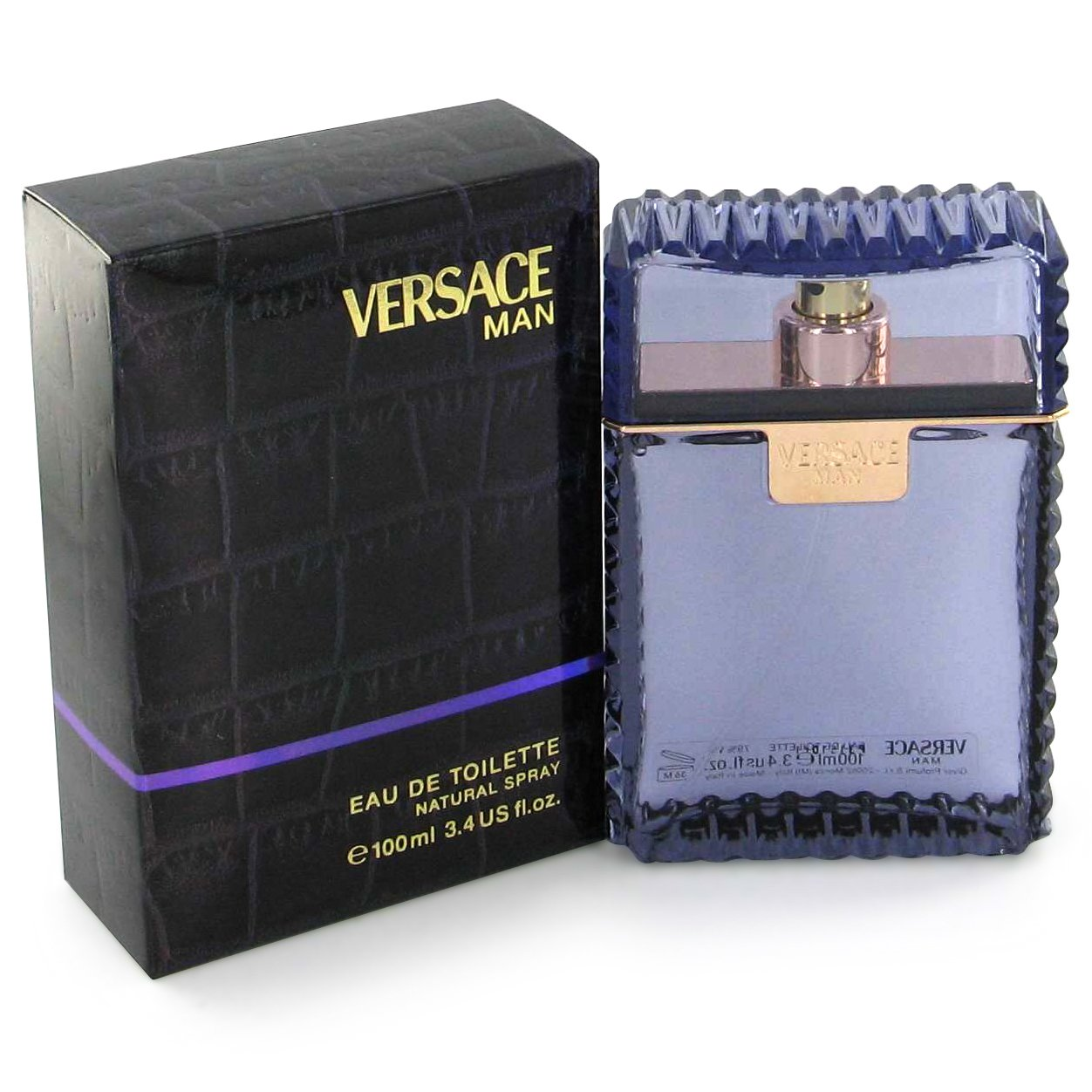 Versace Man By Gianni Versace Versace Man by Versace for Men Eau Fraiche Eau De Toilette Spray (blue) 1 oz