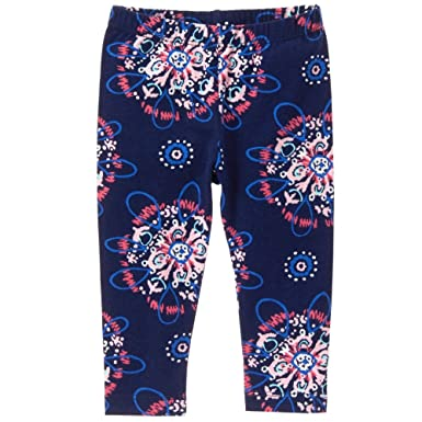 396512a6d82ad Gymboree Baby Toddler Girls' Navy Exploded Stars Legging, Oxford Blue, ...
