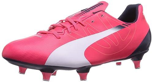 Puma Men s Evospeed 5.3 SG Bright Plasma-White-Peacoat Running Shoes - 5 UK 70ca63afb
