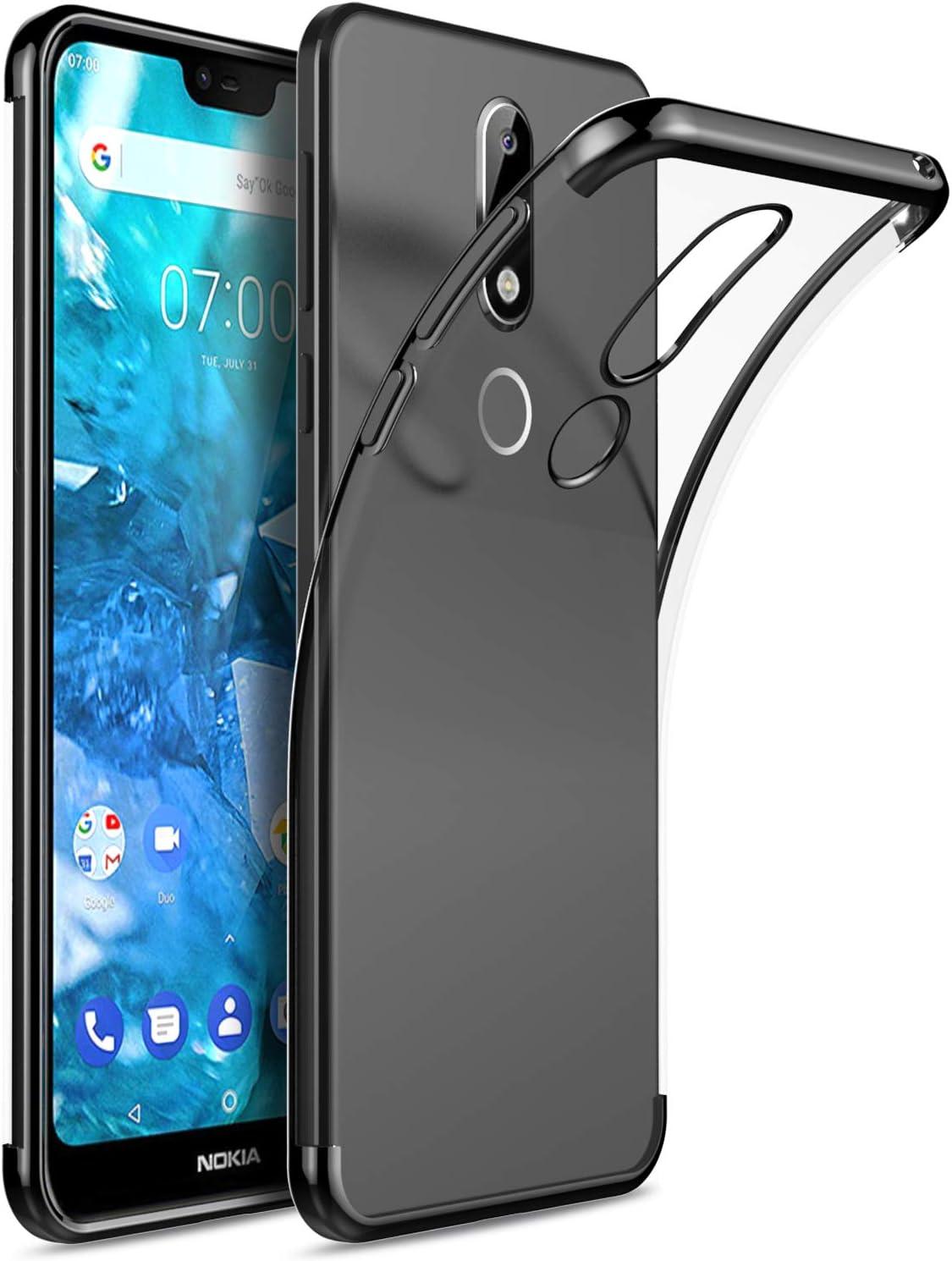 KuGi. para Funda Nokia 6.2 / Nokia 6 2019, TPU Transparente Slim ...