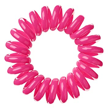 Amazon.com   Invisibobble Traceless Hair Ring and Bracelet Suitable for All  Hair Types Candy Pink   Beauty 610f7845956