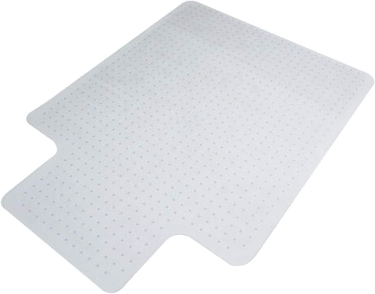 PVC Clear Floor Mat 36 x 48 Inches (3 feet x 4 feet) (Carpet, 1 Pack) (1 Pack for Carpet)
