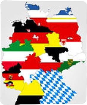 my-puzzle-design alfombrilla de ratón Mapa de Alemania con las ...
