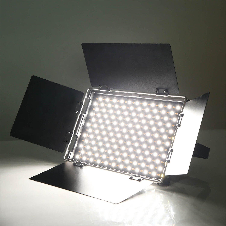 luz de Video LED Delgada VILTROX L116B CRI95 835LUM Luz de LED Panel de Foto de Estudio de luz para Canon Nikon Sony DSLR c/ámara y videoc/ámara DV