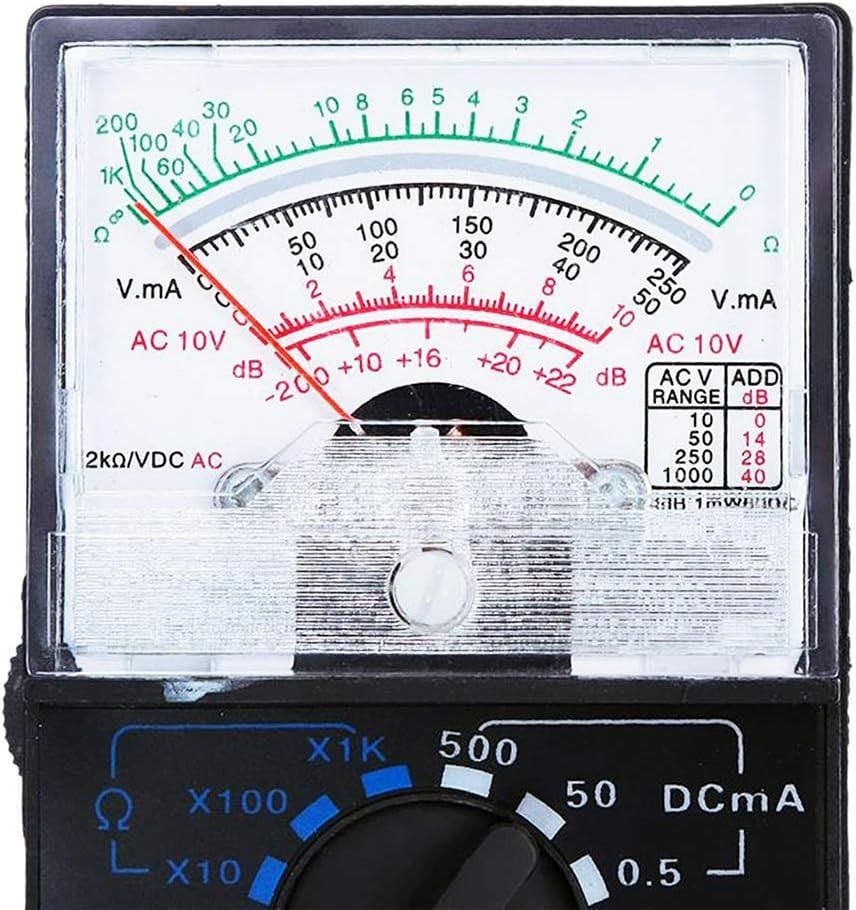 F Blue Analog Multimeter Spannung Elektrischer Strom Resistance Meter Hohe Messinstrument Ac Dc Volt Schule Physik Lehr Equipment Küche Haushalt