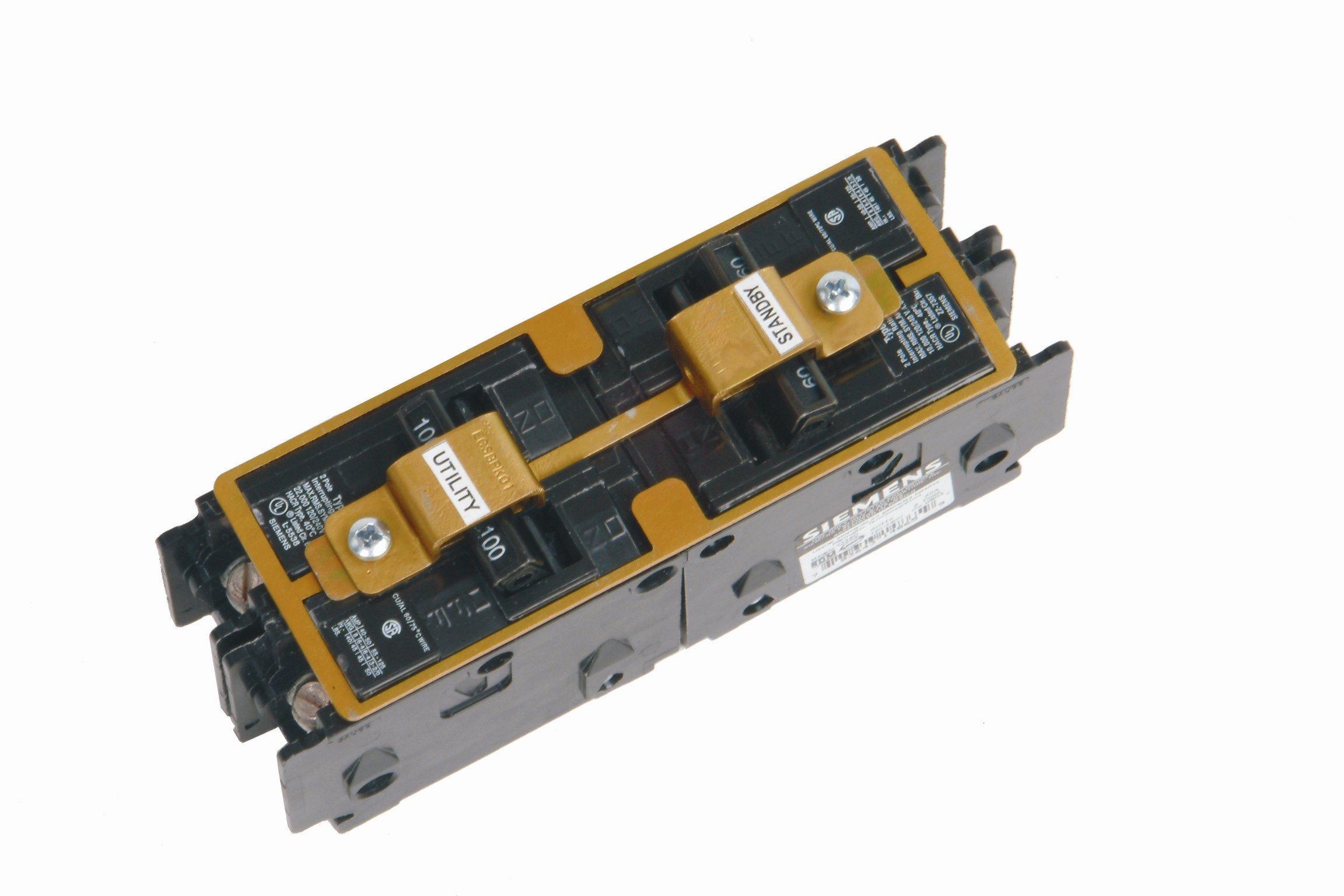 Siemens ECSBPK01 Generator Standby Power Mechanical Interlock by SIEMENS