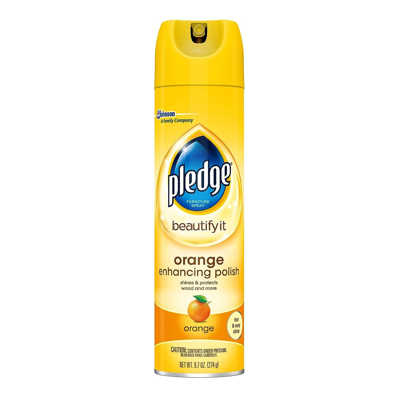 Pledge オレンジの強化ポーランド9.7オンス B000VDX26K