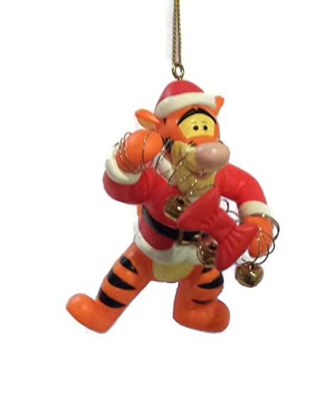 Tigger Christmas Ornaments.Amazon Com Disney Tigger With Moveable Arms 3 5 Inch Winnie