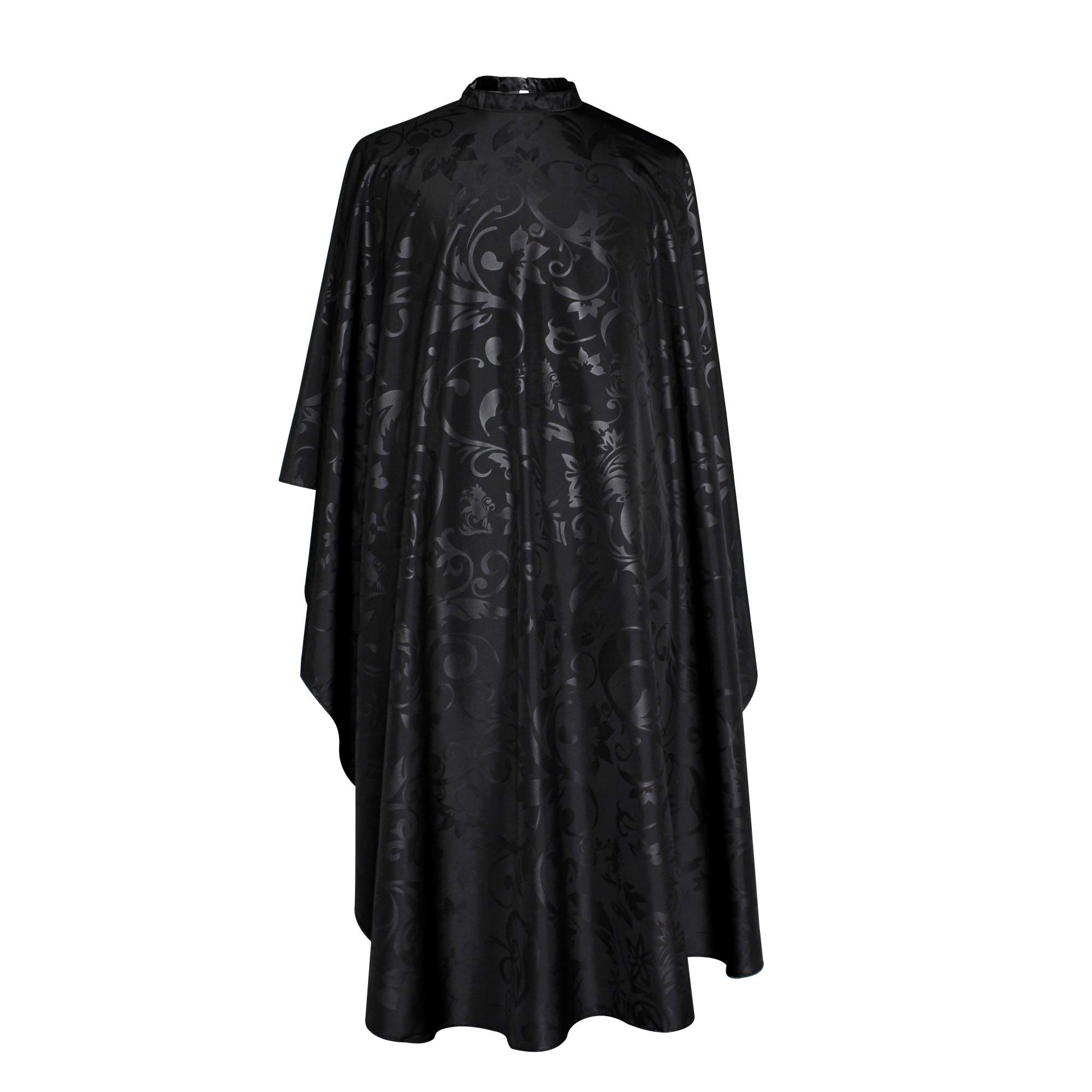 SMARTHAIR Professional Salon Cape Polyester Baber Cape Hair Cutting Cape,54''x62'',Black,C258001C by SMARTHAIR