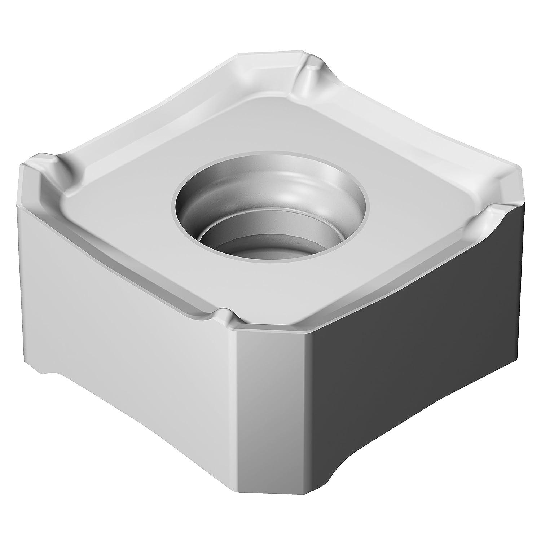 Sandvik Coromant 345R-13T5E-MM S30T Carbide Milling Insert 0.03 mm Corner Radius Pack of 10 Negative Chip Breaker