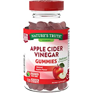 Nature's Truth Apple Cider Vinegar Gummies (120 Count)