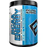 Evlution Nutrition BCAA Energy - High Performance, Energizing Amino Acid Supplement for Muscle Building, Recovery, and Endurance (30 Servings) (Blue Raz)