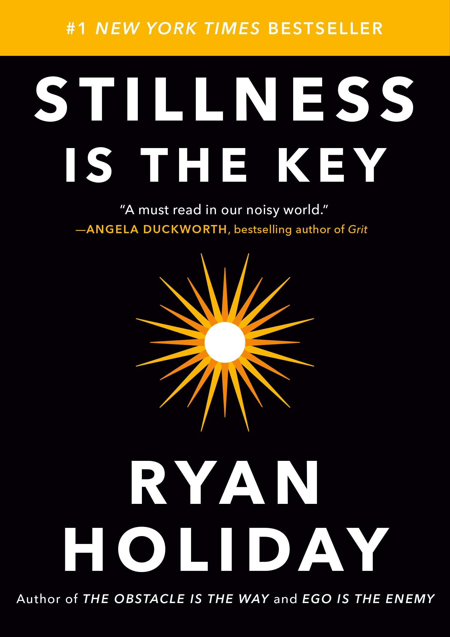 Image result for stillness is the key