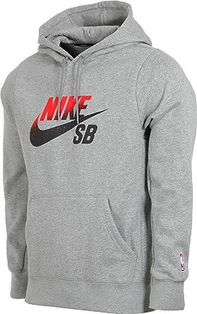 Nike SB SB X NBA ICON Hoodie Grey Size XL at Amazon Men's