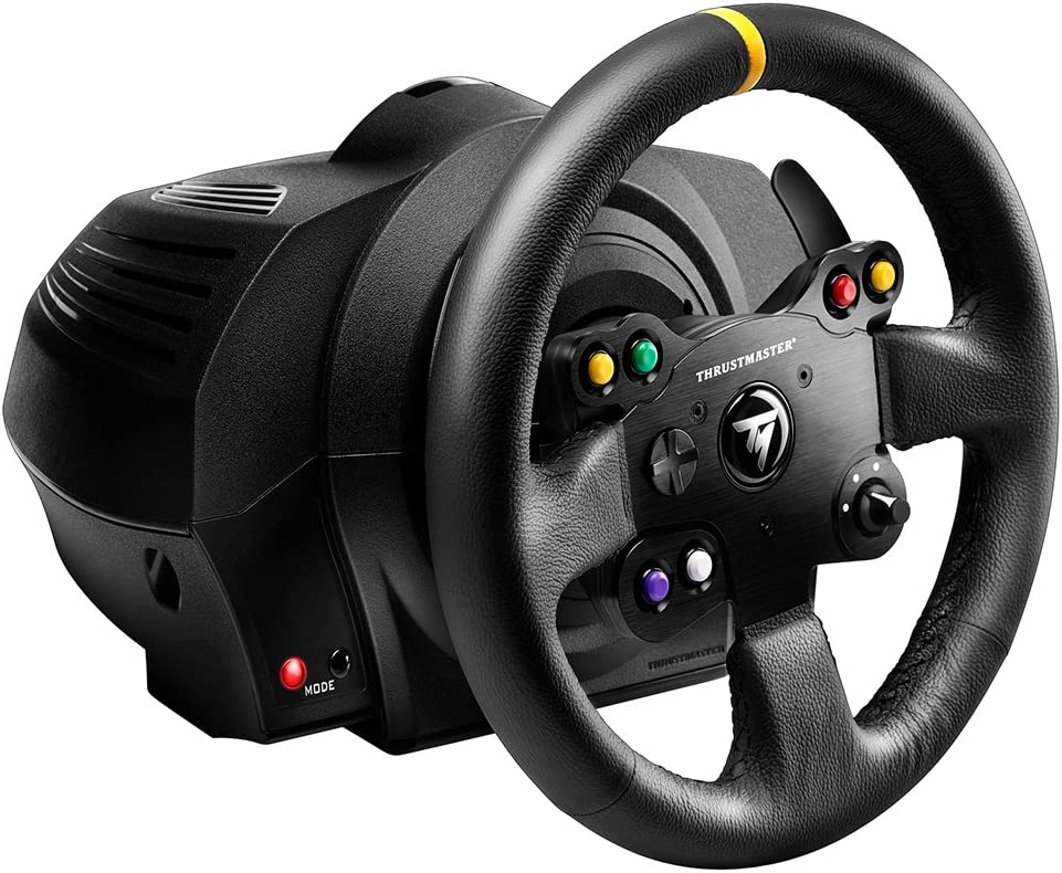Thrustmaster TX RACING WHEEL LEATHER EDITION - Volante: Thrustmaster: Amazon.es: Electrónica